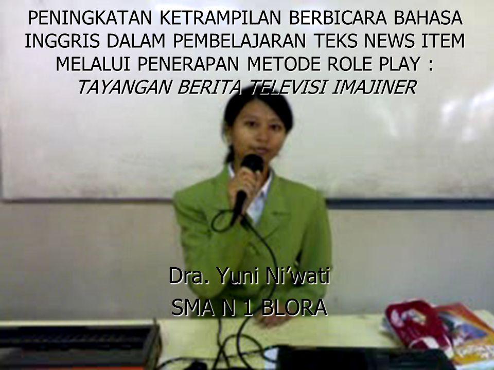 Kenapa Role Play.