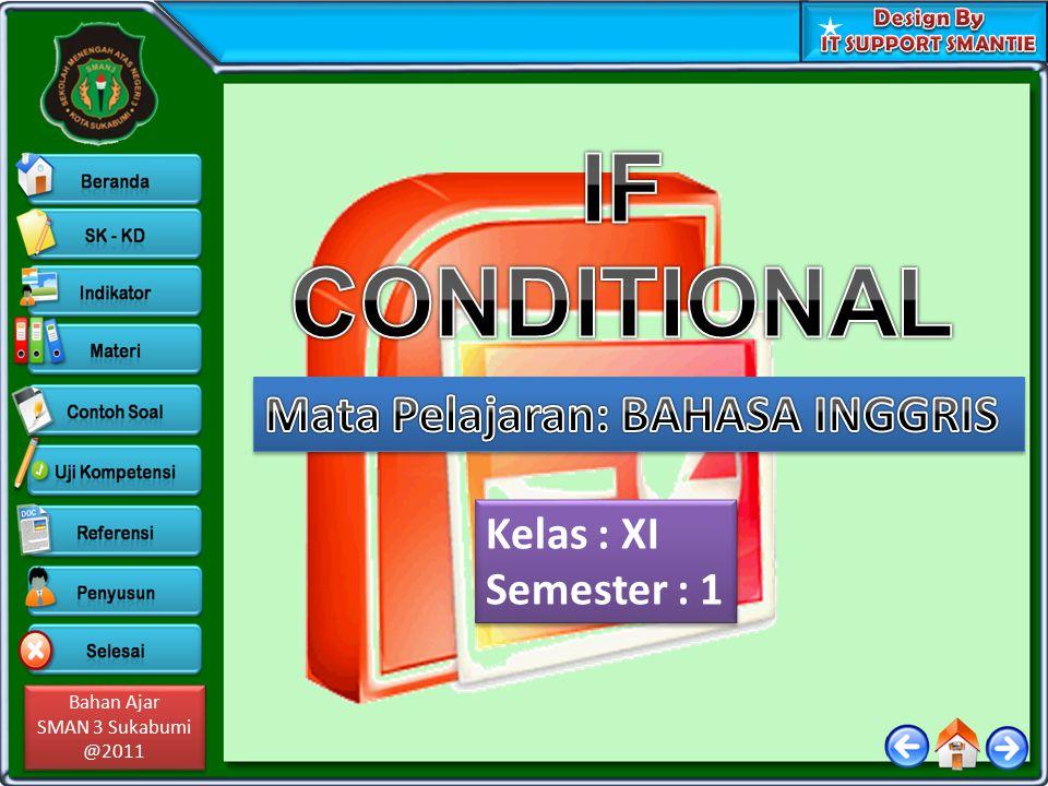 Bahan Ajar SMAN 3 Sukabumi @2011 Bahan Ajar SMAN 3 Sukabumi @2011 Kelas : XI Semester : 1 Kelas : XI Semester : 1