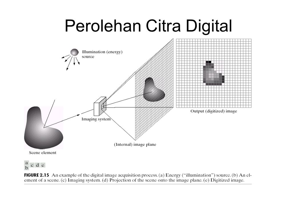 Perolehan Citra Digital