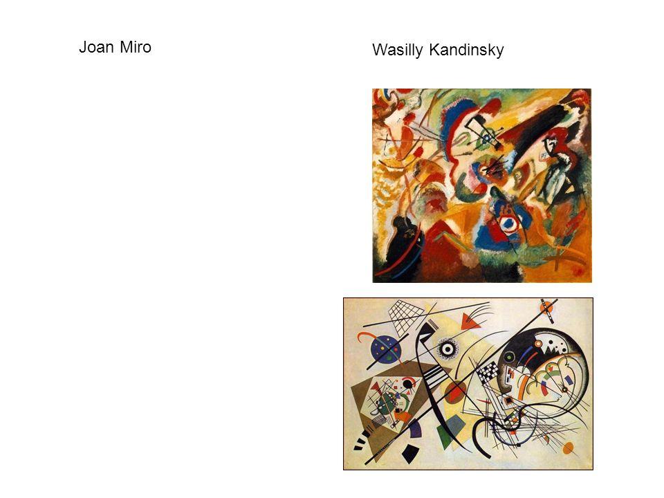 Wasilly Kandinsky Joan Miro