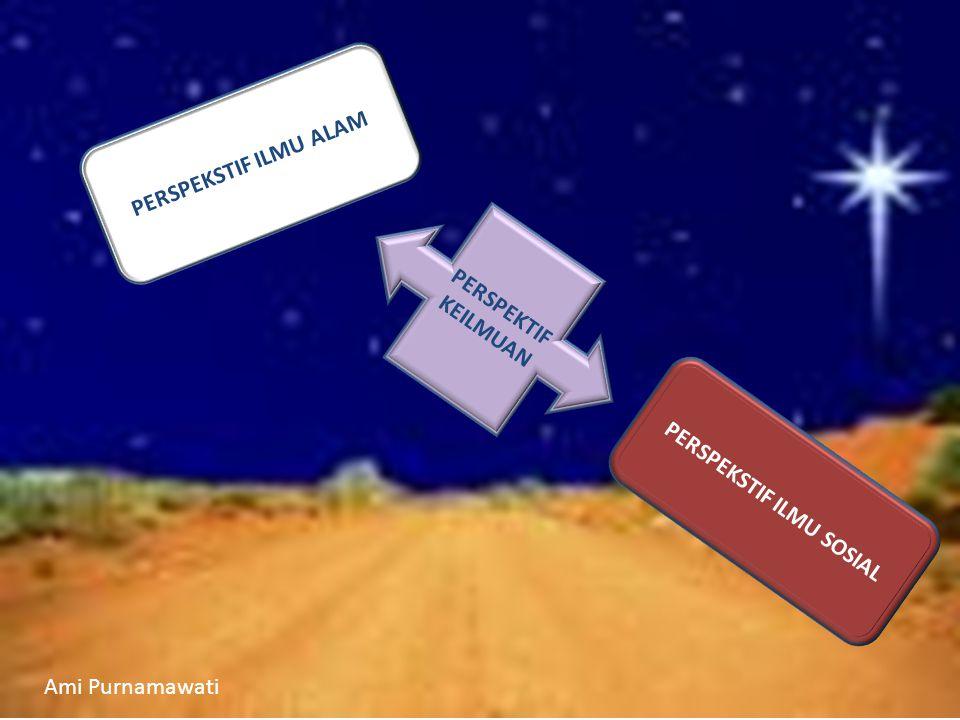 PERSPEKTIF KEILMUAN PERSPEKSTIF ILMU ALAM PERSPEKSTIF ILMU SOSIAL Ami Purnamawati