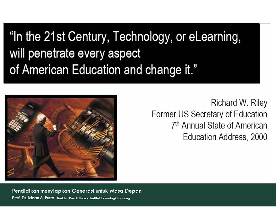 Pendidikan menyiapkan Generasi untuk Masa Depan Prof.