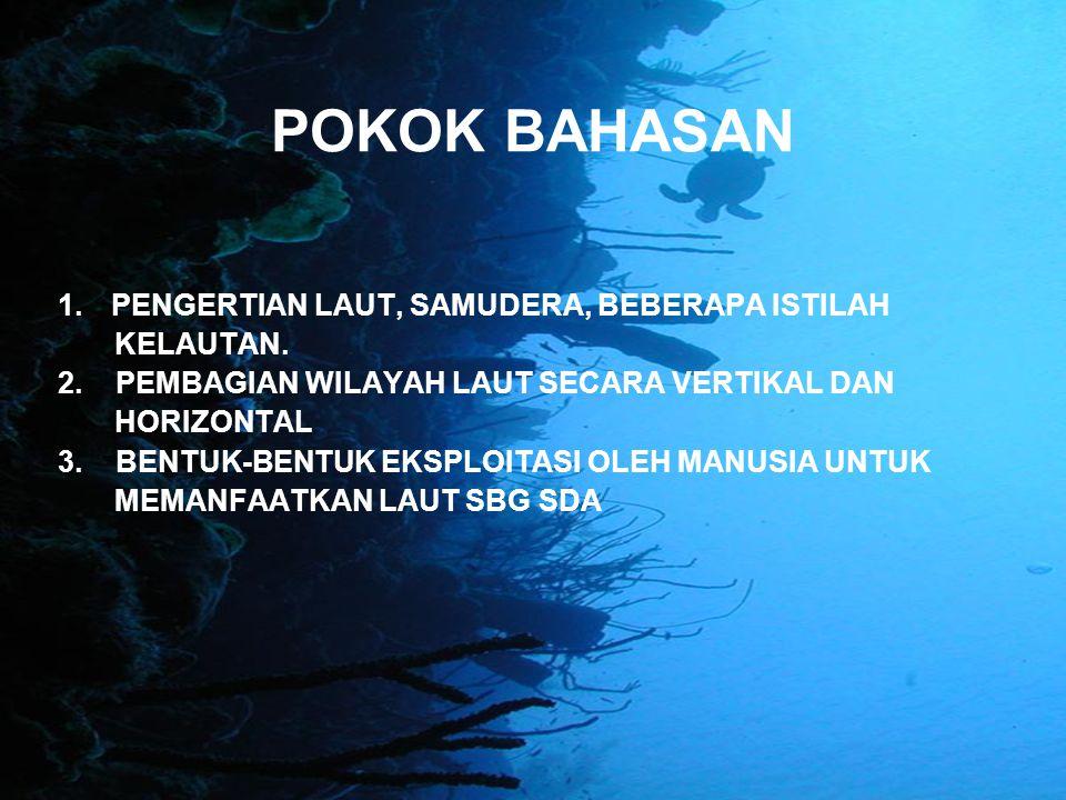 NATURAL ECOSYSTEM : Aquatic environment External forces (e.g.