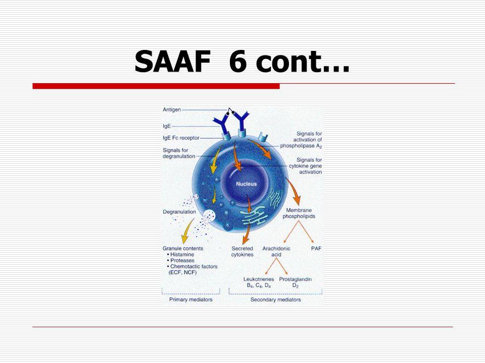 SAAF 6 cont…
