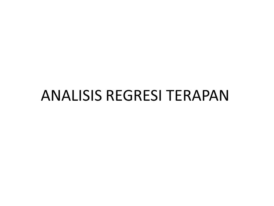ANALISIS REGRESI Analisis Regresi Linear Analisis regresi merupakan metode analisis data yang memanfaatkan hubungan antara dua variabel atau lebih (Berat Badan dengan Umur; FEV1 dengan Tinggi Badan; Berat Badan dengan Umur dan Asupan Gizi).