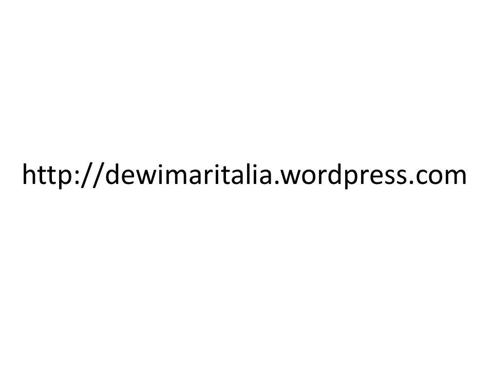 http://dewimaritalia.wordpress.com