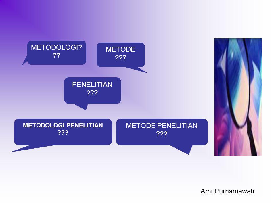 Saya Berpikir, karena itu saya Ada (Deskartes; 1596 – 1650) Ami Purnamawati