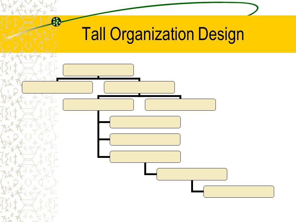 Tall Organization Design