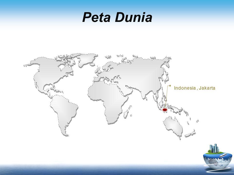 Peta Dunia Indonesia, Jakarta