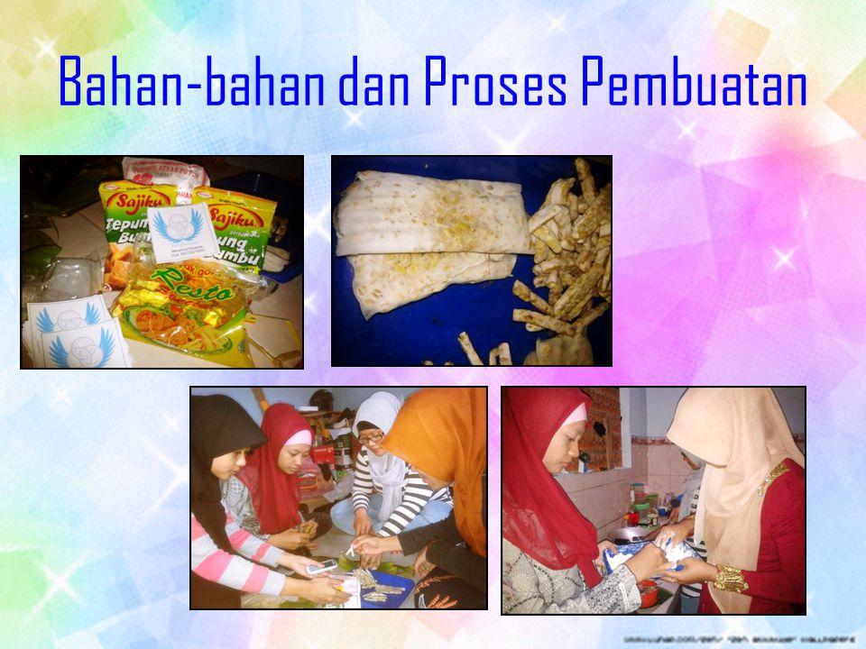 Bahan-bahan dan Proses Pembuatan