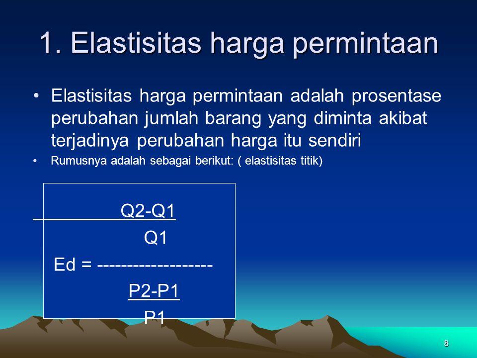 39 Jawab 16 – 10 ½ (10 + 16) Ey = -------------------------------- 300.000 – 200.000 ½ (200.000 + 300.000)