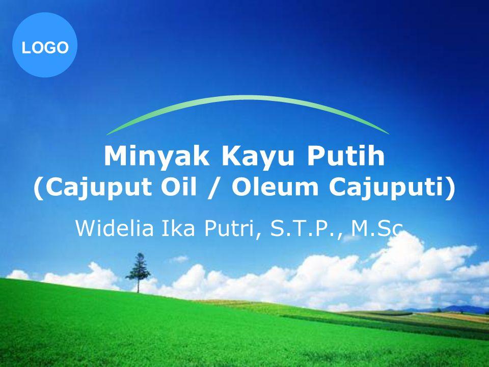 LOGO Minyak Kayu Putih (Cajuput Oil / Oleum Cajuputi) Widelia Ika Putri, S.T.P., M.Sc