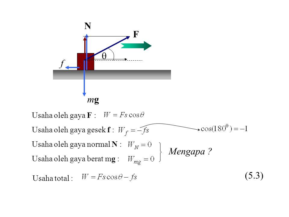 KEKEKALAN MOMENTUM LINIER UNTUK SISTEM DUA PARTIKEL m1m1 p 1 = m 1 v 1 m2m2 p 2 = m 2 v 2 p1p1 p2p2 F 21 F 12 Hukum Newton III (9-10) Momentum partikel di dalam suatu sistem tertutup selalu tetap Hukum kekekalan momentum (9-11) (9-12)