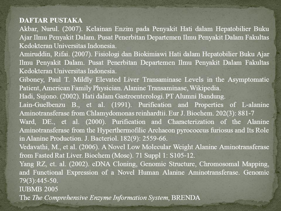 DAFTAR PUSTAKA Akbar, Nurul.(2007).