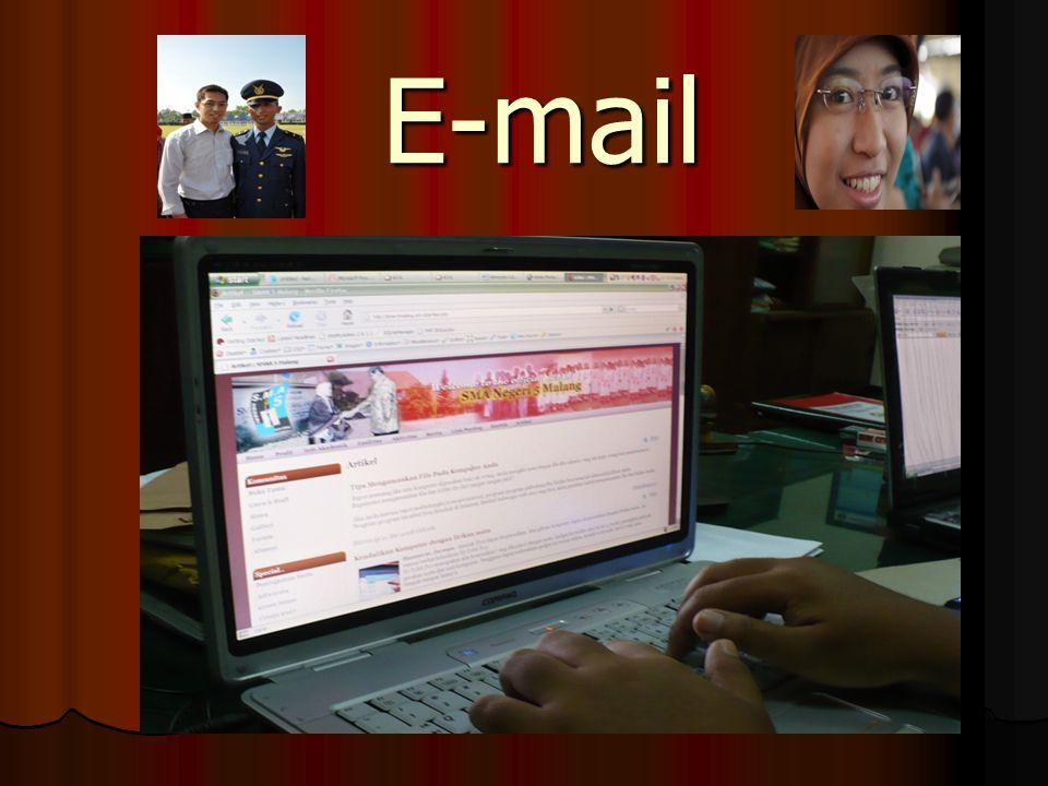 Langkah-langkah membuat alamat e-mail Klik internet explorer Klik internet explorer Ketik http://www.yahoo.com.
