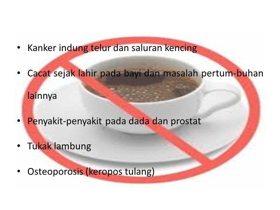 Minuman teh atau kopi adalah dosa, suatu pemanjaan yang merusak, yang seperti dosa lain merusak jiwa.