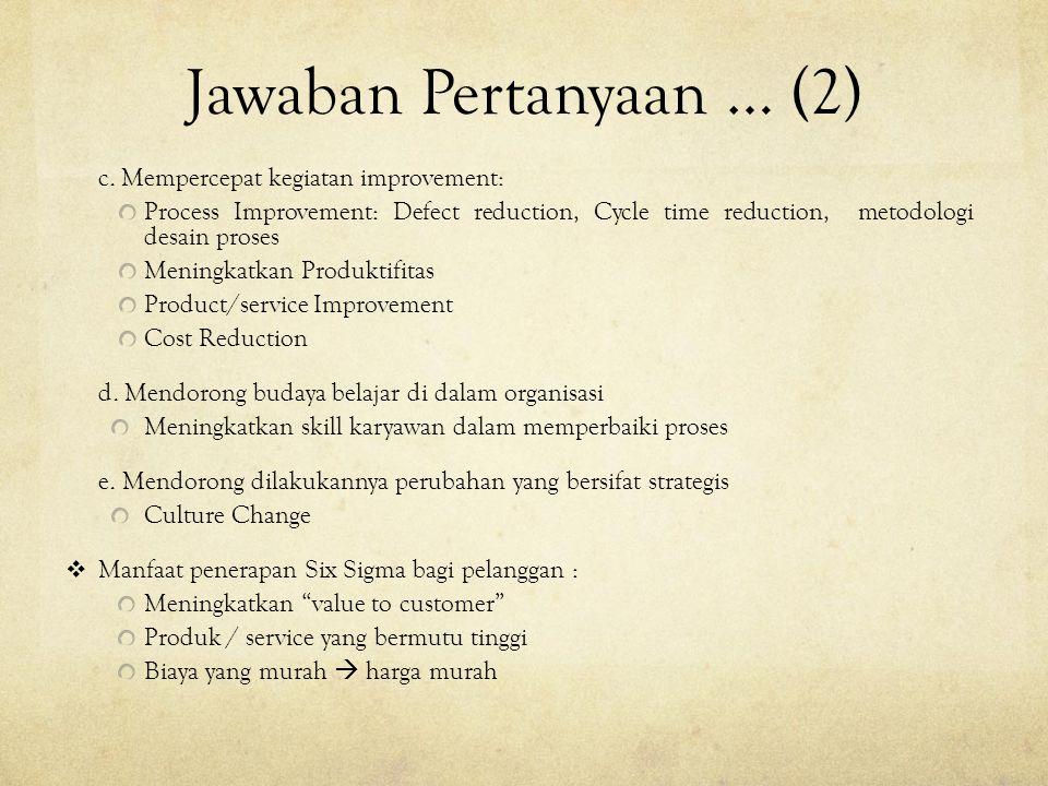 Jawaban Pertanyaan … (2) c.