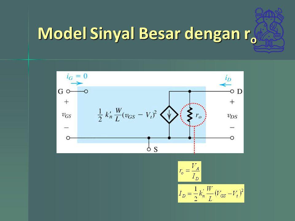 Model Sinyal Besar dengan r o