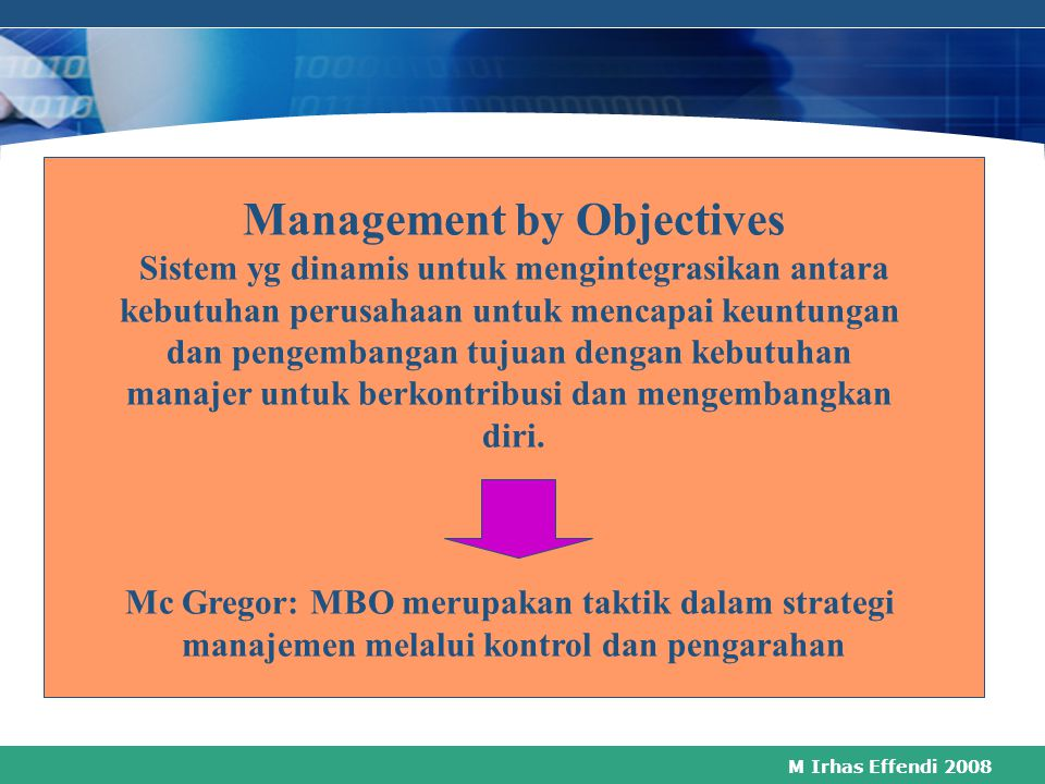 M Irhas Effendi 2008 How Performance Management Work Performance Agreement Main Performance Review Monitoring and Review performance Agreement High Pe