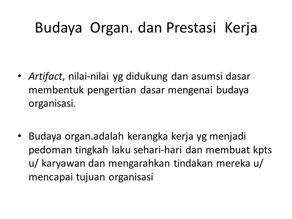 Budaya Organ.