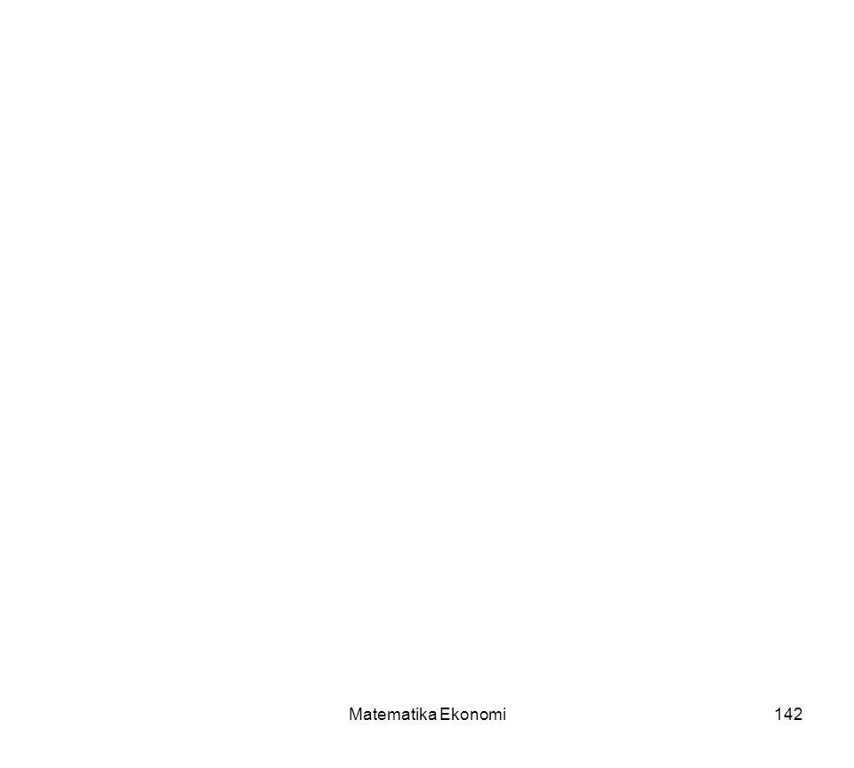 Matematika Ekonomi142