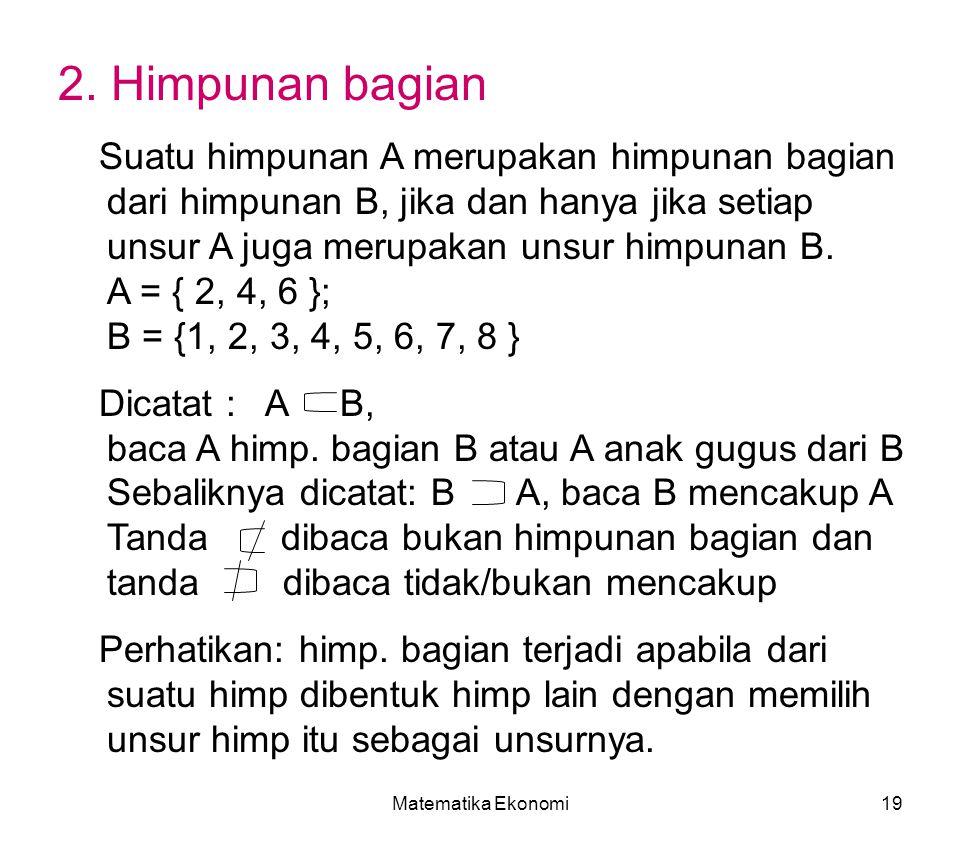 Matematika Ekonomi19 2.