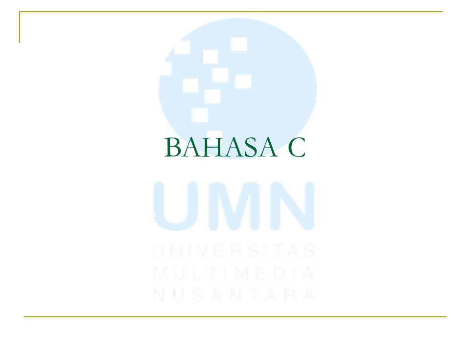 BAHASA C