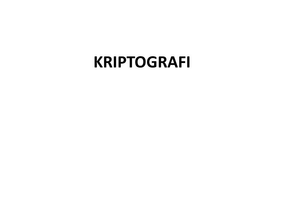 Apakah Kriptografi ?