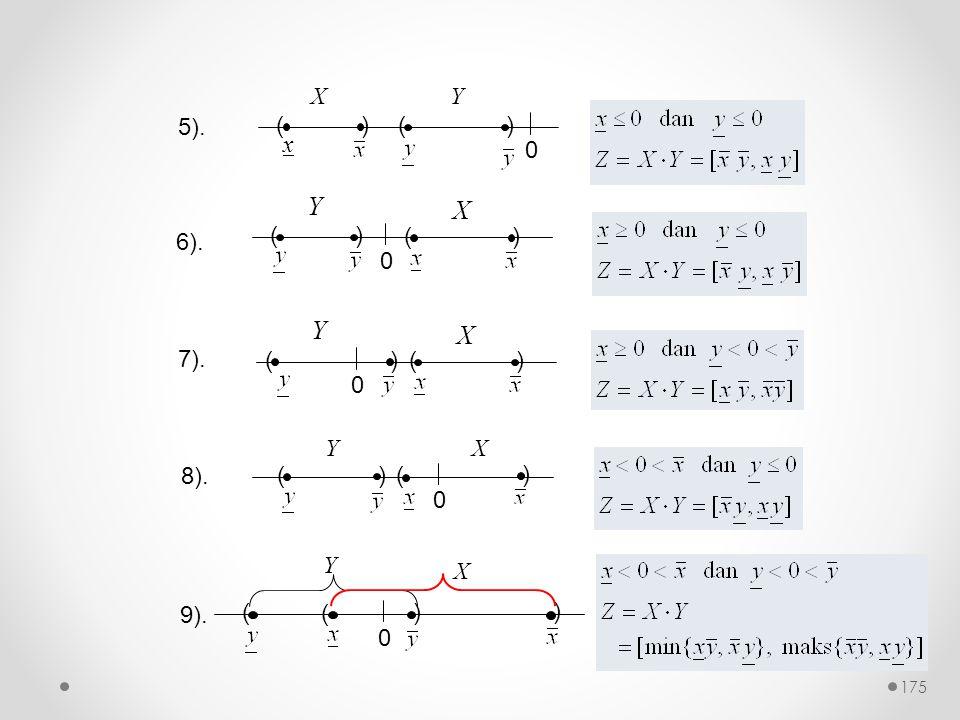 6). 0 () () Y X 7). 0 () () Y X 0 () ( ) YX 8). 9). 0 () ( ) Y X 5). 0 () x () XY 175