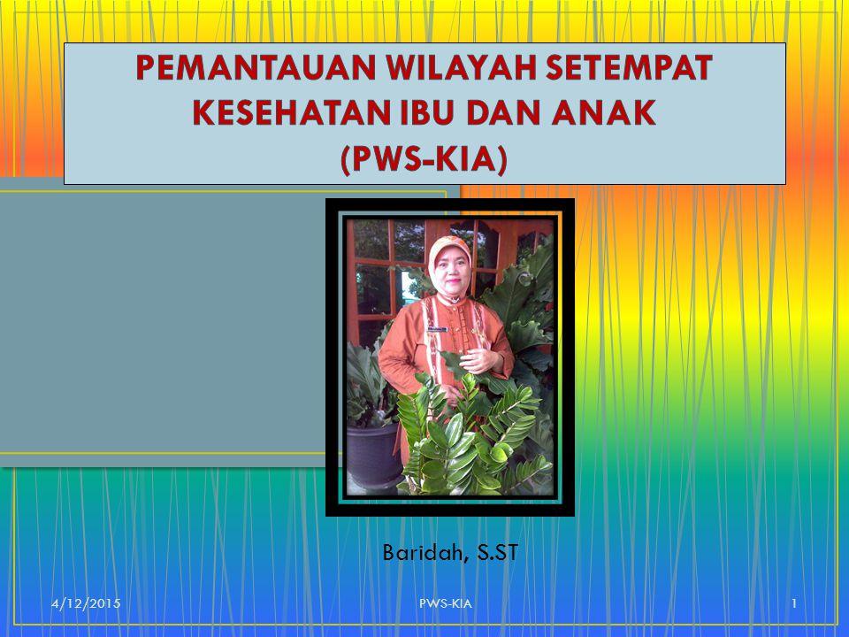 Baridah, S.ST 4/12/20151PWS-KIA