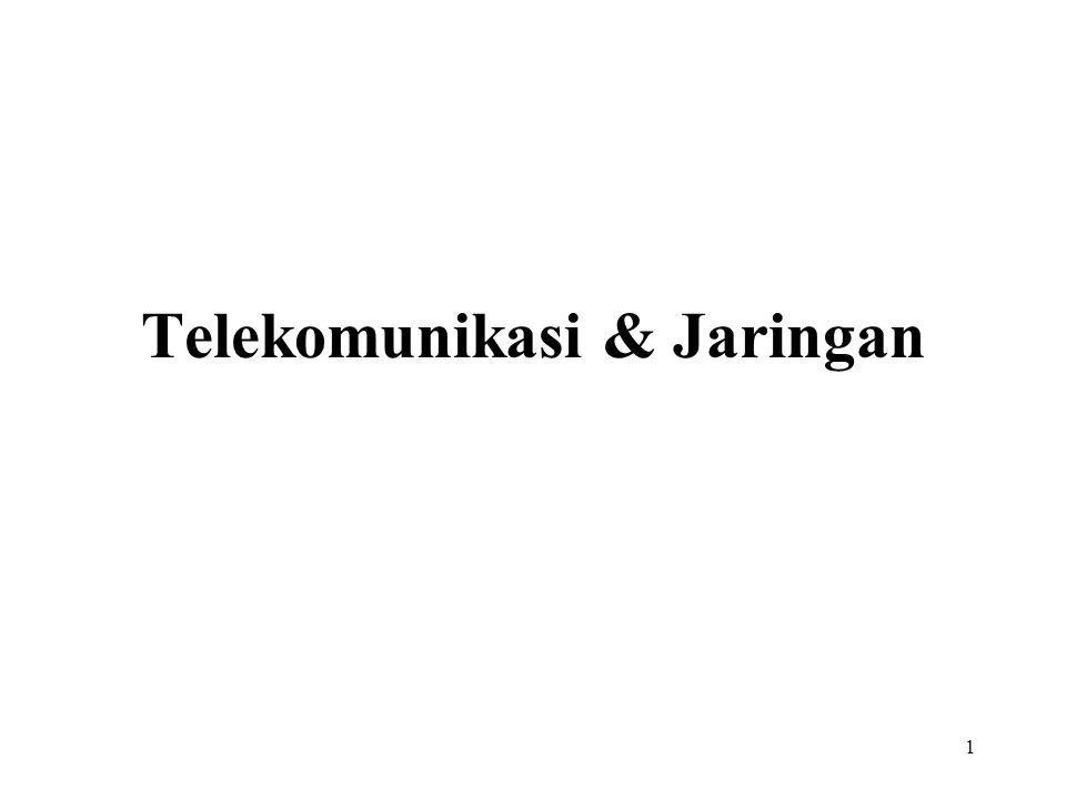 1 Telekomunikasi & Jaringan