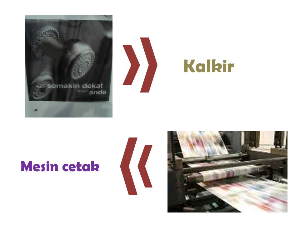 Mesin cetak Kalkir