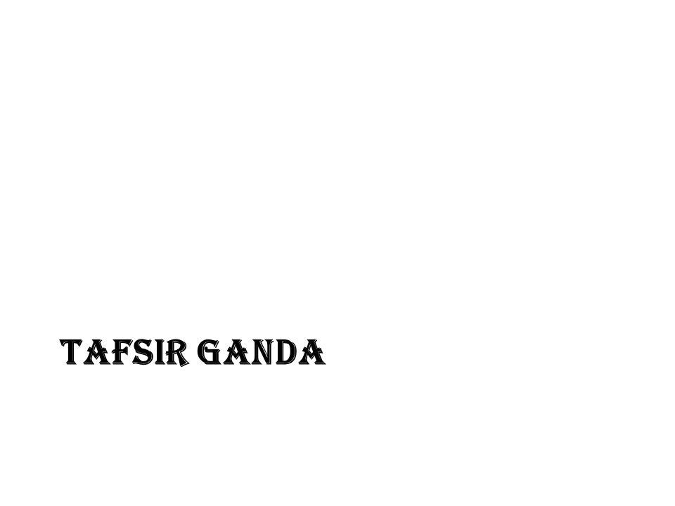 TAFSIR GANDA