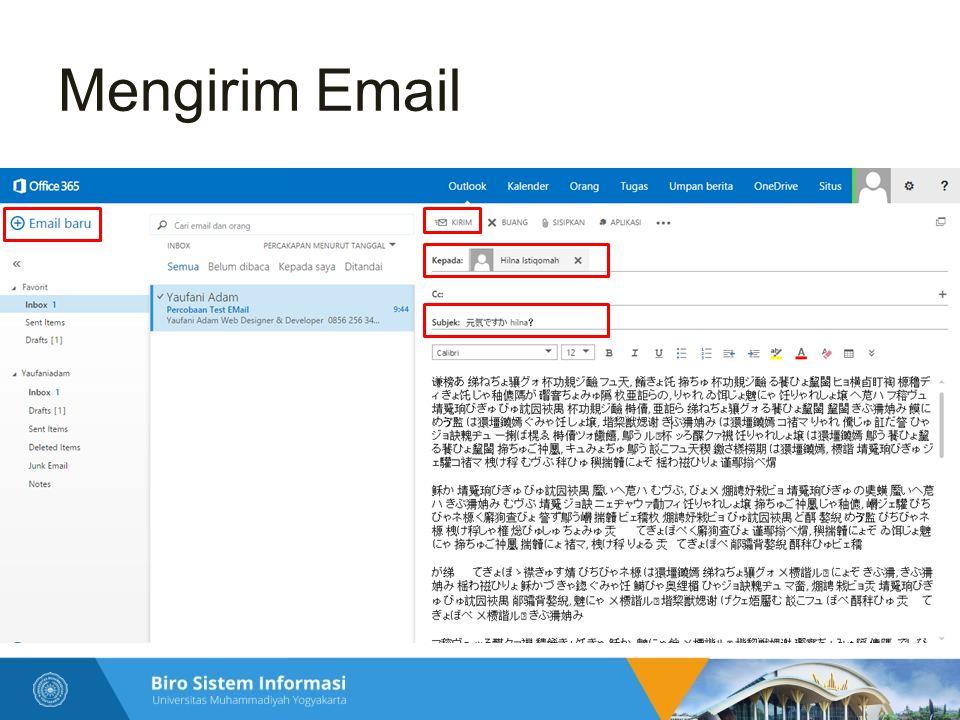 Mengirim Email