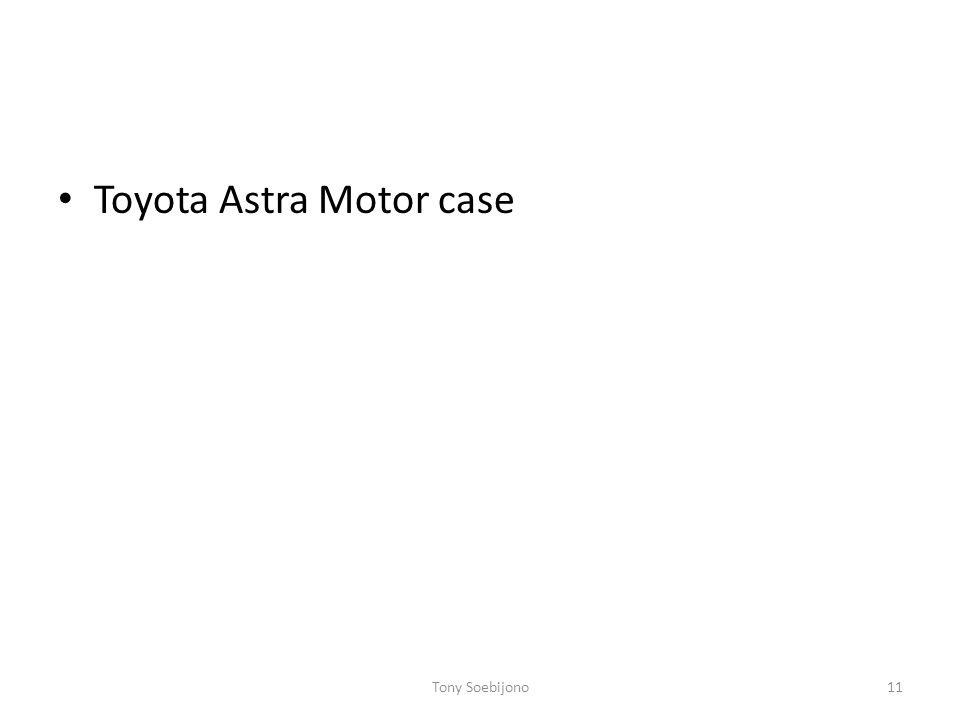 Toyota Astra Motor case Tony Soebijono11