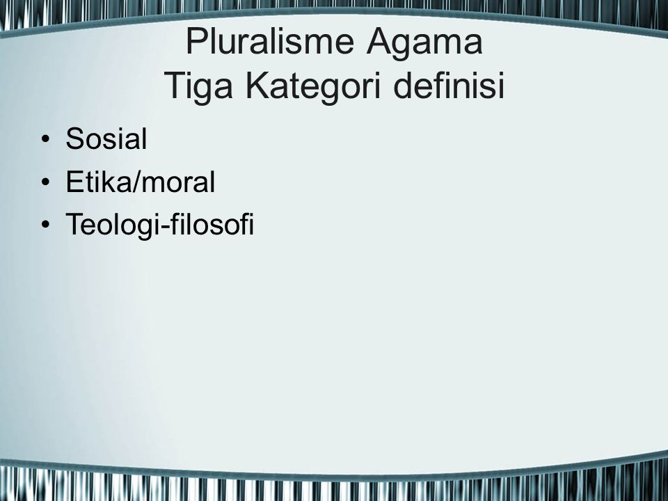The Real Model Pluralisme Agama John Hick Personal/impersonal