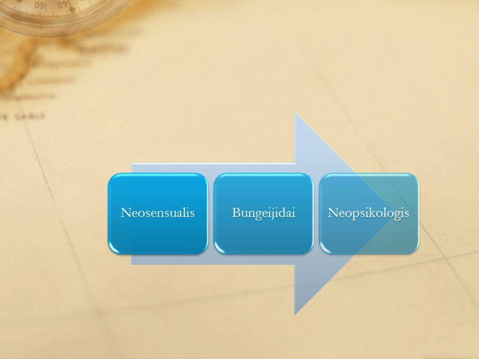 NeosensualisBungeijidaiNeopsikologis