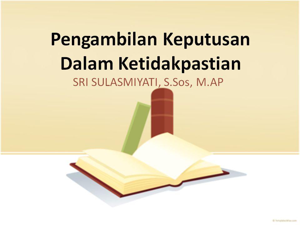 Ari Darmawan, Dr., S.AB, M.AB aridarmawan_fia@ub.ac.id MODUL 2OPTIMISASI EKONOMI