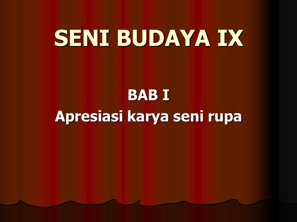 SEJARAH SENI RUPA INDONESIA MODERN 1.
