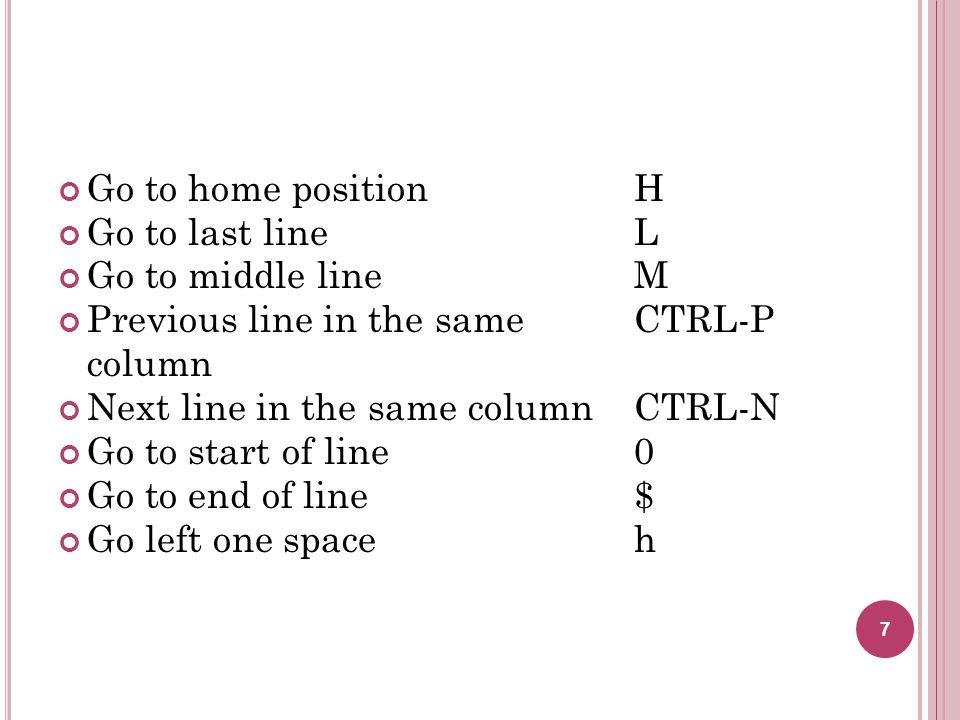 Buang huruf-huruf hidup dengan pemotongan sederhana Buang huruf hidup dan gunakan beberapa yang tersisa Contoh : check disk  chkdsk, move  mv Jika huruf pertama huruf hidup, tidak boleh dibuang 18