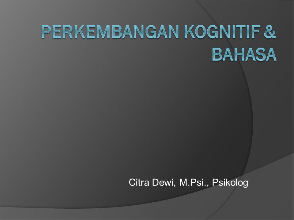 Citra Dewi, M.Psi., Psikolog