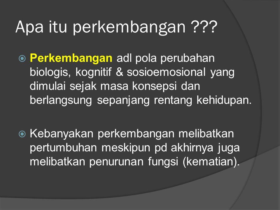 Pengaruh Biologis & Lingkungan  Anak2 scr biologis disiapkan utk mempelajari bahasa ketika mereka & pengasuhnya berinteraksi.