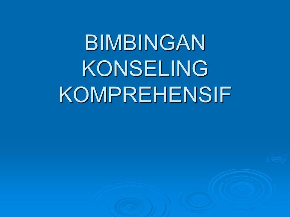 BIMBINGAN KONSELING KOMPREHENSIF