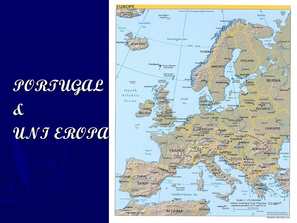Proses Masuknya Portugal ke Uni Eropa ► Usaha Portugal untuk bergabung dengan ME telah dimulai sejak awal tahun 1960-an.