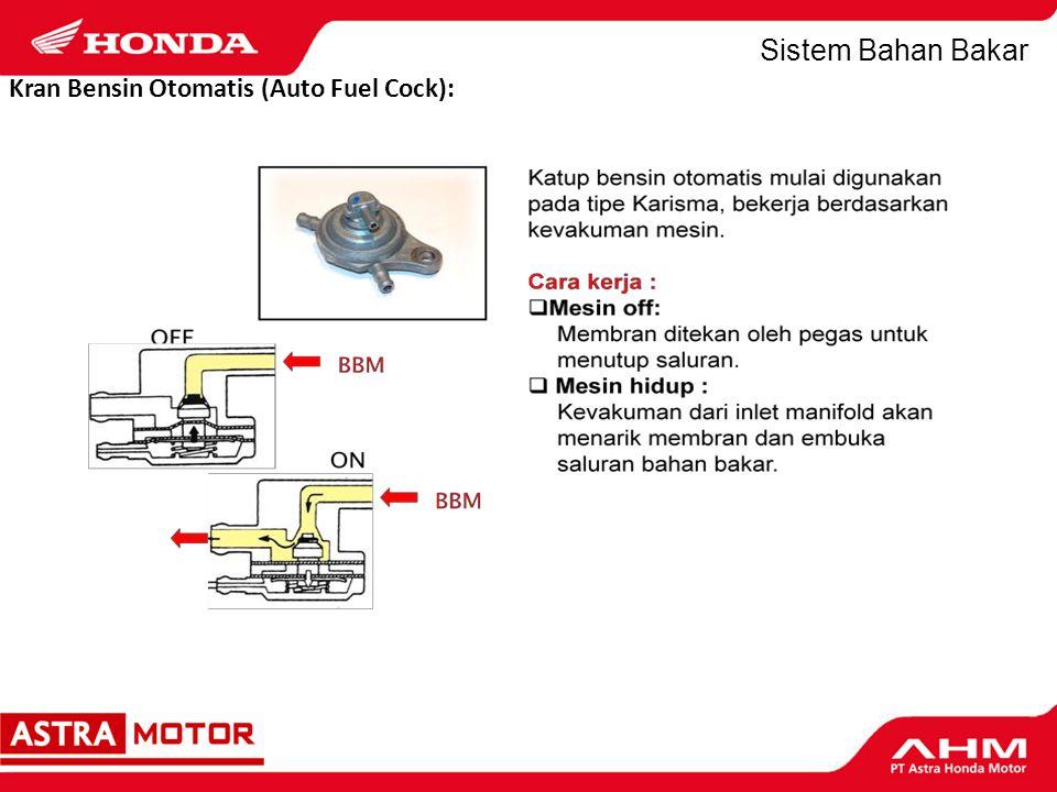 Sistem Bahan Bakar 4.Saringan Udara.