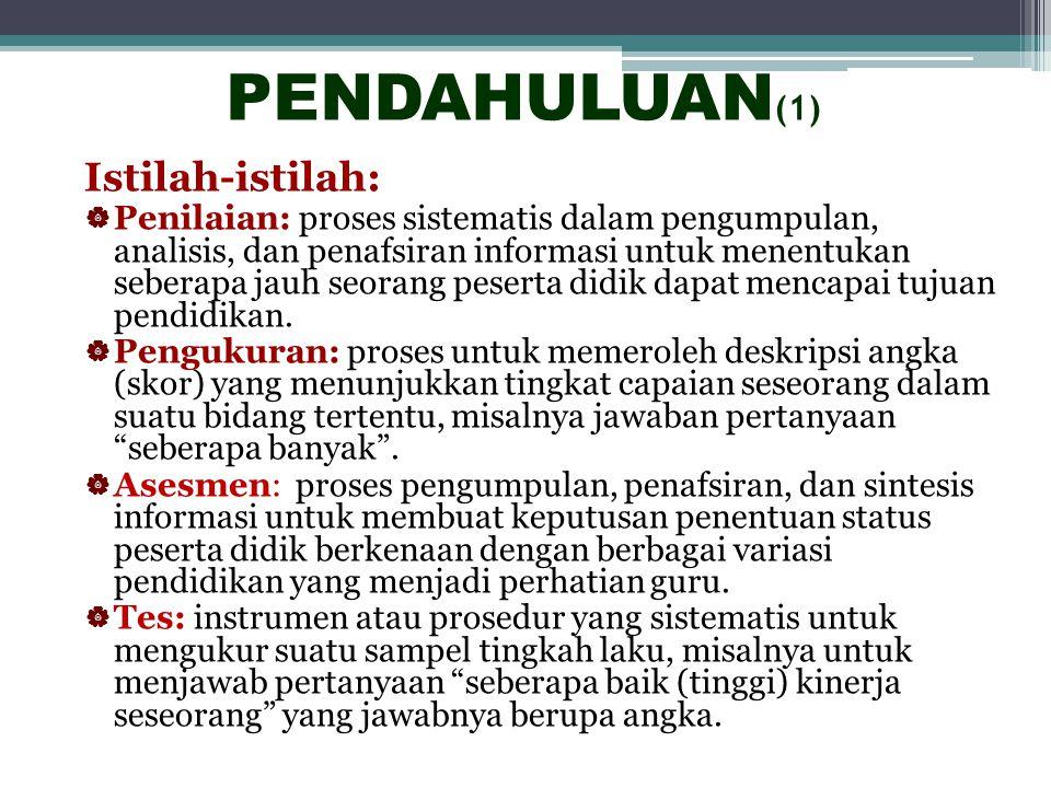 PENILAIAN PEMBELAJARAN BERBAHASA INDONESIA Burhan Nurgiyantoro FBS/PPs Universitas Negeri Yogyakarta Yogyakarta, 22 November 2010