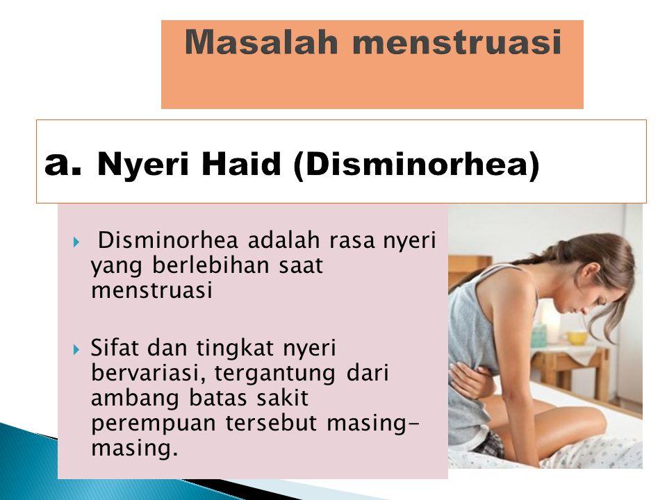 Usia normal perempuan mendapatkan haid untuk pertama kali adalah 12-13 tahun  tetapi ada juga sebagian perempuan yang mengalami haid lebih awal (us