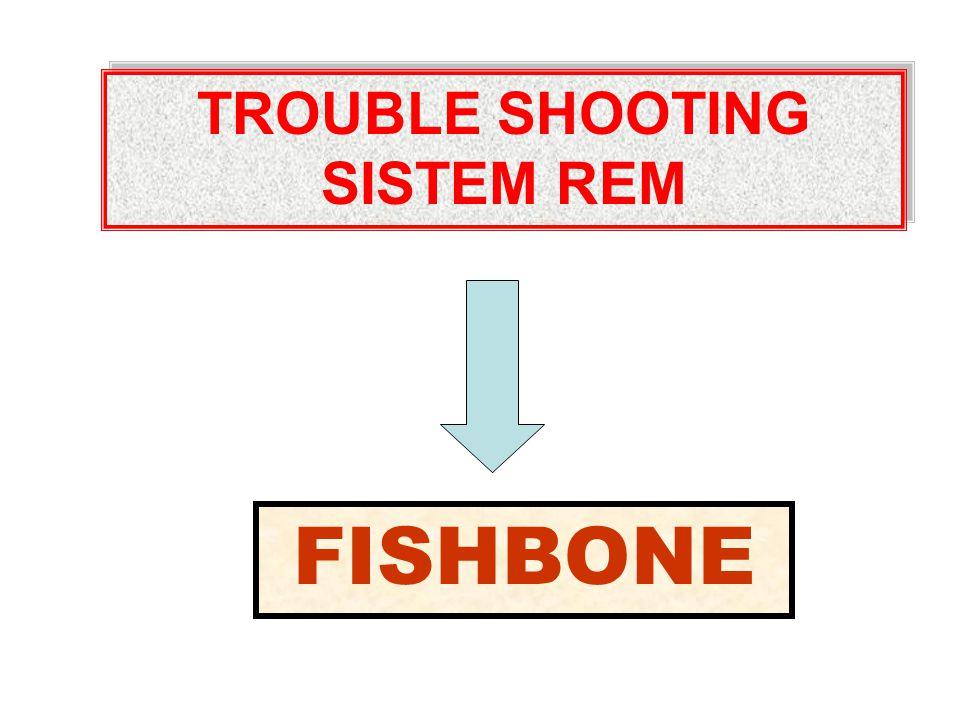 TROUBLE SHOOTING SISTEM REM TROUBLE SHOOTING SISTEM REM FISHBONE