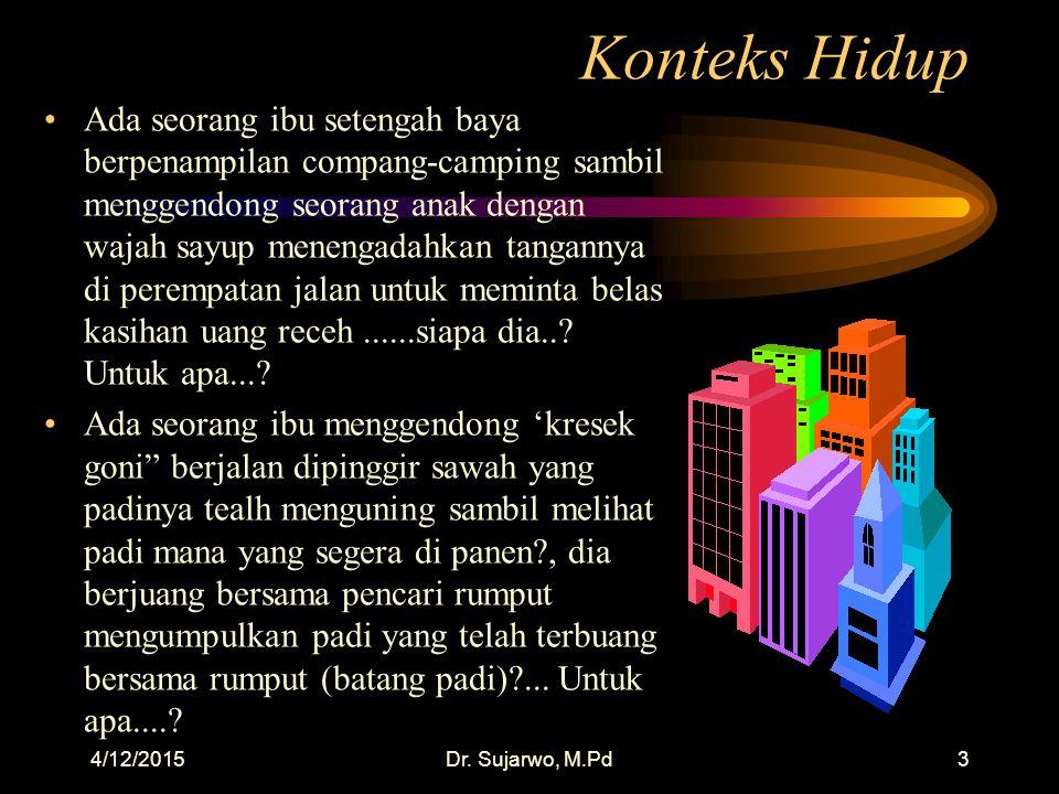 4/12/2015Dr. Sujarwo, M.Pd23