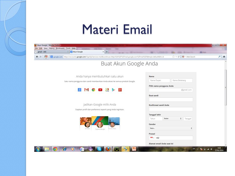 Materi Email